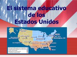 El sistema educativo en los Estados Unidos
