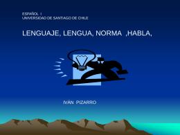 NORMAS DE LA LENGUA