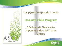 """""""Unearth Chile""""."""