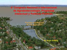 Diapositiva 1 - foroagrobio.com.ar