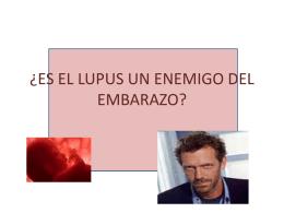 Lupus y Embarazo (Dr. Javier Villar Fidalgo)