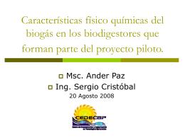 Biogas - Soluciones Prácticas