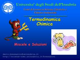 Soluzioni - Università degli Studi dell`Insubria