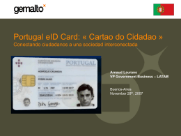 Portugal eID Card