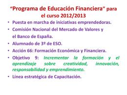 Presentación jornada 16 de enero 2013