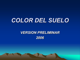 color del suelo version preliminar 2006