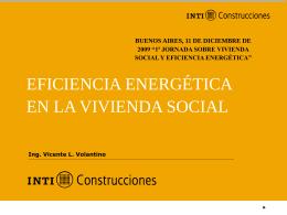 ARGENTINA: Eficiencia energética. INTI