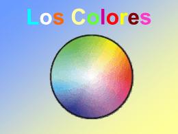 Los Colores - Maestra