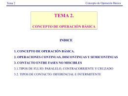 definición de operación básica