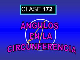 Clase 172: Ángulos en la Circunferencia - CubaEduca