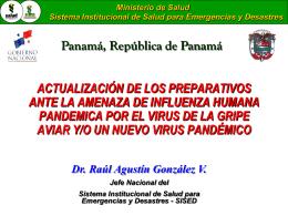 Ministerio de Salud Sistema Institucional de Salud para