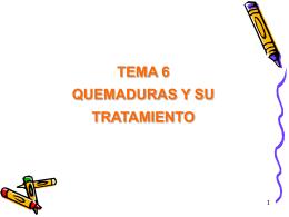 quemaduras - Conquismania.cl