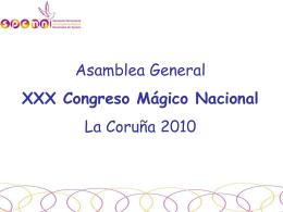 1 - Secretaría Permanente de Congresos Mágicos Nacionales