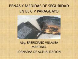 penas y medidas de seguridad en el cp paraguayo