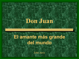 Don Juan - Greenfield Spanish