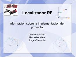 Localizador RF