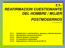 Diapositiva 1 - Humanistica I