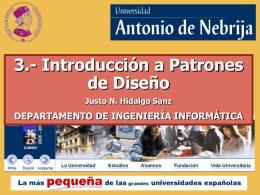 Enlace a la presentación - Universidad Antonio de Nebrija