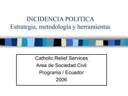 Herramienta - Infoandina