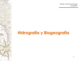 hidrografia y biogeografia (R.Raddatz)