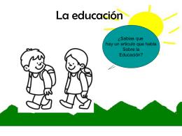 La educación art3