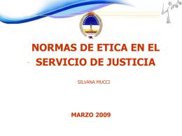 normas de etica - del Poder Judicial de Rio Negro