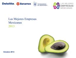 Mejores empresas 2013