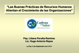 Las buenas prácticas de Recursos Humanos para 2º Encuentro