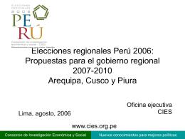 Proyecto en Power Point - Consorcio de Investigación Económica y