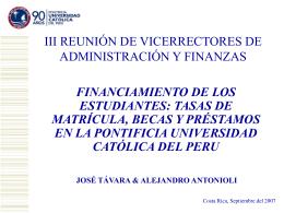 c. las becas (cont.) - Vicerrectoría de Administración