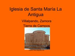Iglesia de Santa María La Antigua