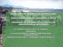 secretaría de desarrollo agropecuario dirección