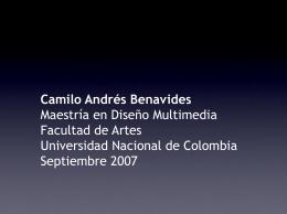 Camilo Andrés Benavides