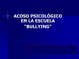 El Bullying 1