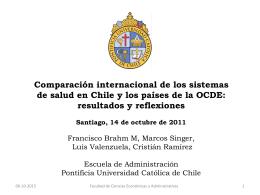 2. Comparación OCDE - Trabajo Seguro Chile
