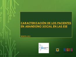 Diapositiva 1 - Secretaría Distrital de Salud