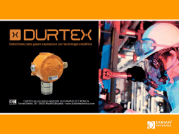 49_604_E-DURTEX-v02 - DTGAS · Sistemas de Detección de