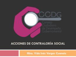 4 CONSEJO CIUDADANO DE DESEMPENO GUBERNAMENTAL