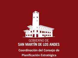 Presentación - Consejo de Planificación Estratégica