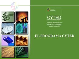 Presentación del CYTED