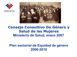 Ministerio de Salud - UNESCO HIV and Health Education