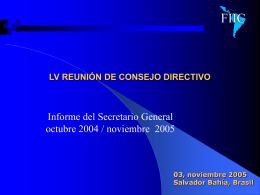 LIV REUNIÓN DE CONSEJO DIRECTIVO 8 DE SEPTIEMBRE