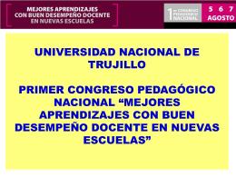 Felipe Temoche - Consejo Nacional de Educación