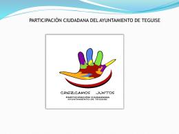 consejo municipal - Ayuntamiento de Teguise