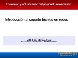 Servicios IPv6 a través de Tunneling IPv6/IPv4 UNAM-UAGro