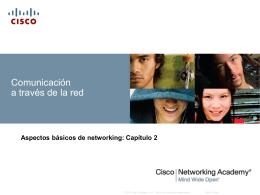 Comunicación a través de la red