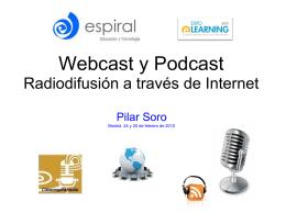 webcast - podcast - Presentación Pilar Soro