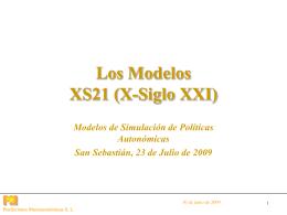 Los Modelos XS21 (X