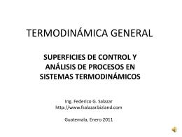 superficie de control - Federico G. Salazar