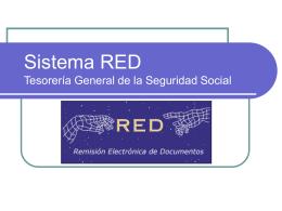 Sistema RED de la TGSS